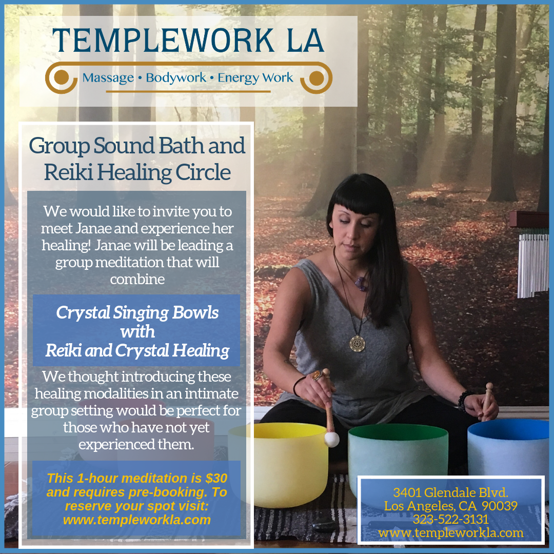 Group Sound Bath and Reiki Healing Circle